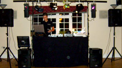 birthday party disco entertainment