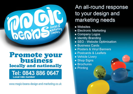Magic Beans design and marketing Norwich
